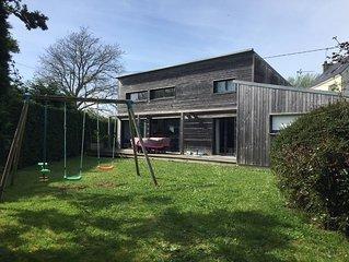 Maison a ossature bois  - 1km des plages - Plouhinec - Morbihan