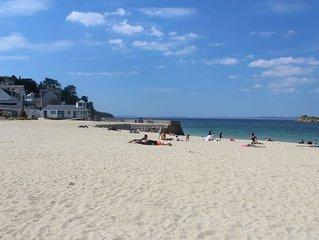 DOUARNENEZ Joli T2 accès piscine et plage Résidence les Sables Blancs