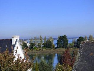Joli appartement avec vue sur les toits de Loctudy -----------------------------