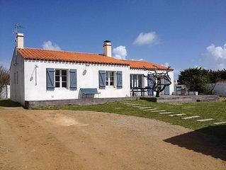 Tres belle maison proche de la plage de Luzeronde