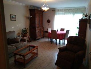 Grand appartement avec jardin a Cormeilles-en-Parisis(95)