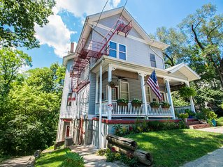 NEW to VRBO Quiet, Private Luxury 5 Minutes from Downtown Cincinnati