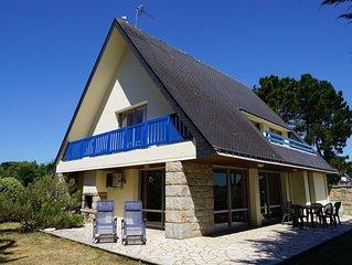 Maison de vacances à Sarzeau, les pieds dans l'eau