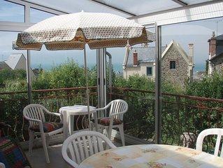 Maison familiale avec vue sur la mer, à 300 mètres de la plage !