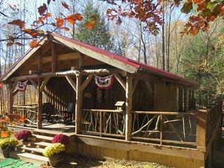 Luxury Cabin Rental in Hocking Hills