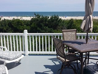 Wonderful Beachfront Home With Unobstructed Views Of Beach And Bay!!