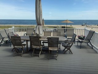 PERFECT OCEANFRONT 6 BR HOUSE - ON THE BEACH  - ONLY 8/29 -9/5 LEFT