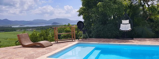 Large terrace overlooking the Bay, Pool, Garden 1800 m²