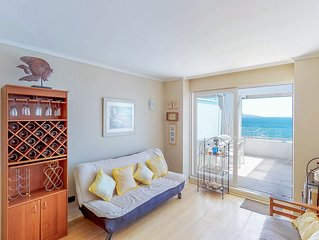 Depto frente al mar con piscina compartida - Oceanfront apt with shared pool