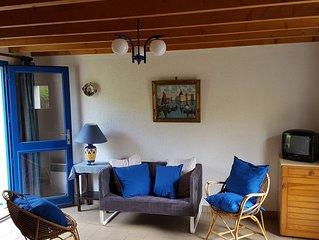 Maison Bleue - Finistère Sud - 4 personnes tout proche de la plage et du port