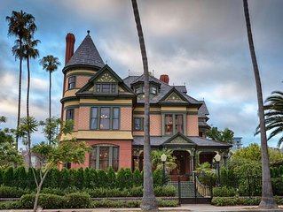 Stunning Victorian Mansion for Weddings, Events & Group Vacation Rentals!