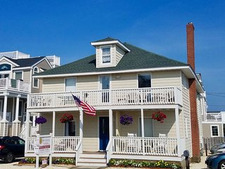 Beach Haven Crest (LBI), 1st Floor, Steps to Beach, 2BR/1BA