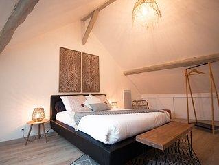appartement 2 pièces en duplex au centre de Pontoise