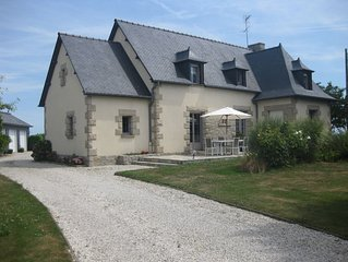 Maison de la Trillardière- Vue sur le Mont-Saint-Michel
