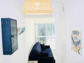 «Tout Baigne » - Appartement 1CH avec loggia fermée panorama mer