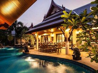 3 & 5 Bedroom Villa Rental in Aonang Krabi Thailand