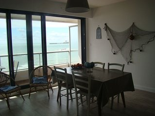 charmant appartement face à l'océan pour 4 personnes