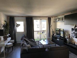 Grand appartement F2 a 2km de Deauville -Trouville