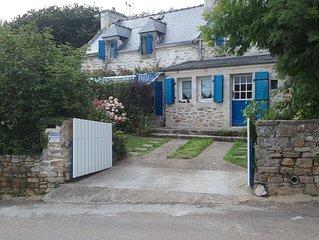 Maison typique Bretonne - proche : port - centre ville - plage