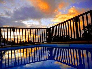 Maison entière  3 chambres climatisées avec piscine.