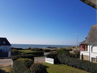 Villa sur la côte sauvage avec vue sur mer , à 10 minutes à vélo de la Baule