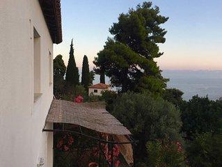 VILLA MYRTO - Beautiful see-view villa in Stafilos