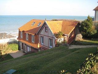 Maison au calme, à 2 pas de la mer ,avec superbe vue et proche du centre ville