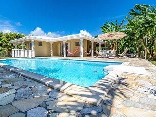 Villa avec piscine a 10 minutes des plages