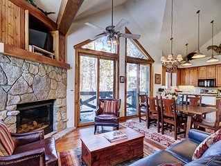 Upscale Townhome in Ski in Ski out COMPLEX-Private Hot Tub-Close to Main Street