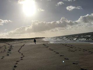 A 200m de la magnifique plage de la Luzeronde, maison de 110m2 baignee de soleil