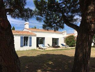 Maison moderne Barbatre, Ile de Noirmoutier, proche plage