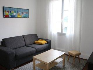 Appartement cosy, tout confort à 200 m de la plage, 250 animations et commerces