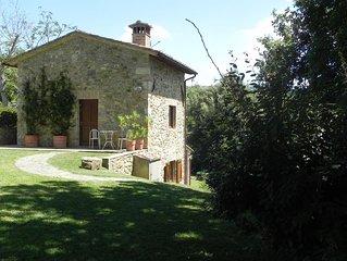 Il Granaio liegt in der Nähe von Siena. Ruhig mit wunderbarer Aussicht.