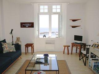 Appartement avec très belle vue sur mer