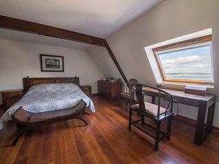 Bel appartement sur la plage du Trez Hir