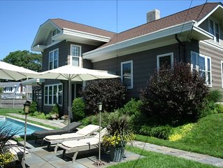 Asbury Park Beach House - 5 Bedrooms w/ private pool