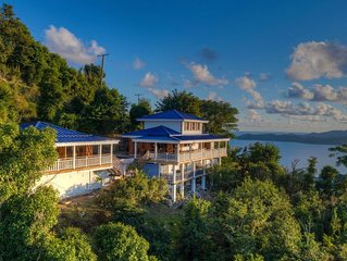 Pelican Peak Villa, Panoramic Island Views, Only minutes to the best Beaches.