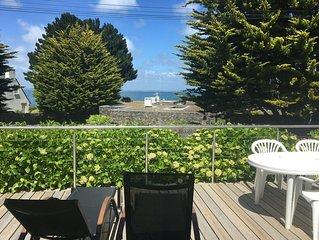 Maison individuelle  à 50 m de la plage, avec vue sur mer, entièrement rénovée