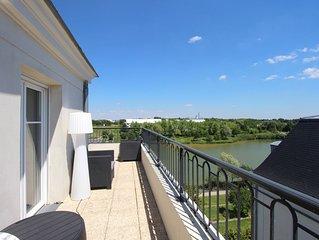 Appartement 10 pax vue lac et Disneyland Paris (HONORE1)