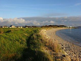 Grand appart, vue ocean magnifique, proche de la plage et des sentiers de rando