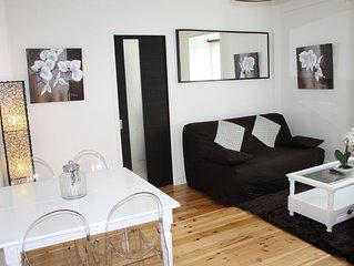 Appartement 2 Pièces 40 m2 Triangle d'Or située dans Maison Face Hôtel Normandy