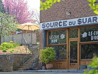 Source du Suary gite Menthinette 2 chambres 2 salles de bain privatives