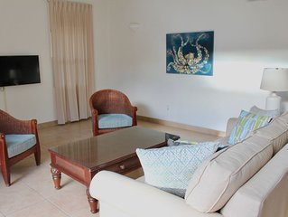 Large 1 bedroom courtyard, 100 steps to Grace Bay beach~open July 4th!