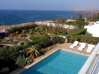 Splendide villa avec piscine, vue mer extraordinaire (8 personnes)
