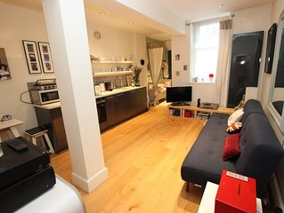 Lovely central apartment in Queens Gate, South Kensington, London