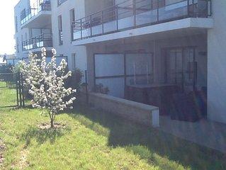 Appartement Rez de jardin STANDING bord de mer