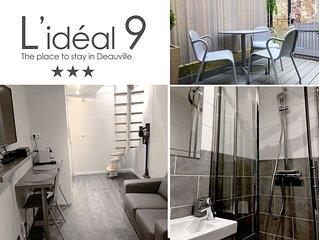 L'IDEAL 9 : Maisonnette + Terrasse (Place Morny à 50m)
