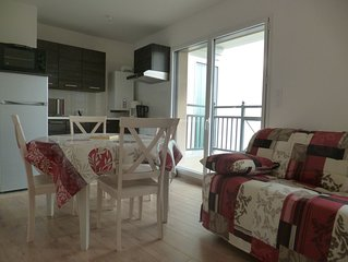 appartement neuf T2 BBC meuble