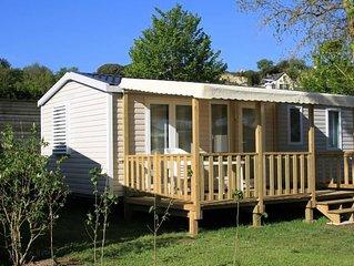 Camping Isle Verte**** - Cottage 4 pièces 6 personnes