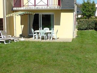 Appartement récent en rez de chaussée avec jardin au calme proche des plages